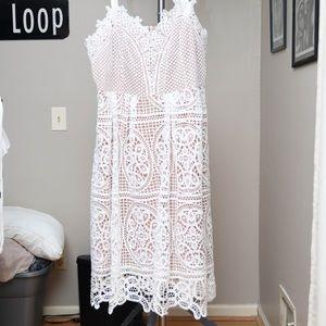 City Chic Lace Dress Sz 20